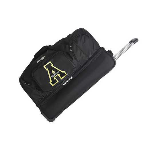 CLAPL300: NCAA Appalachian St Mountaineers 27IN WHLD Duffel Nylon bag